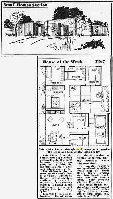 House of the week T367 | Flickr - Photo Sharing! 3 Bed, 1 Bath, Carport