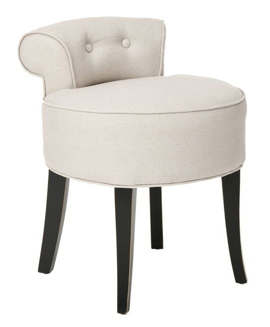 Vanity Chair Would Work Great For My Kitchen Dest Chair Would Tuck In Nicely And Provide Some Padding For The Toosh Vanit Vanity Chair Vanity Vanity Stool