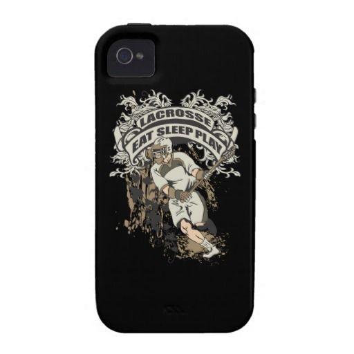Eat, Sleep, Play Lacrosse iPhone 4/4S Case