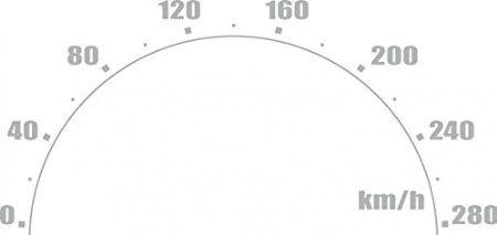 Car-Tattoo Tacho, 350 x 715 mm, silber ~~~~~ schneller Versand innerhalb 24 Stunden ~~~~~