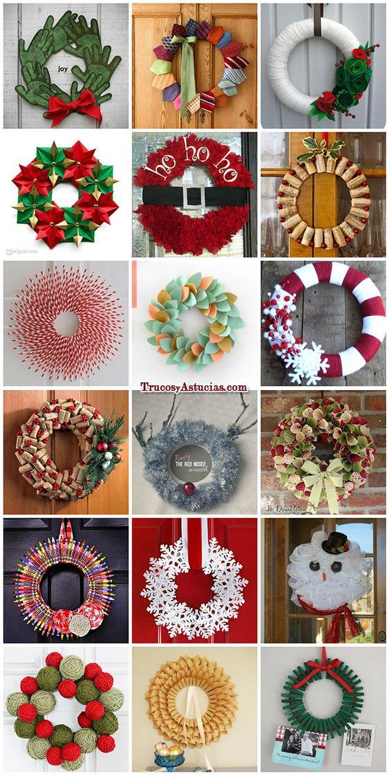 136 manualidades y adornos para Navidad - Trucos Caseros y Astucias