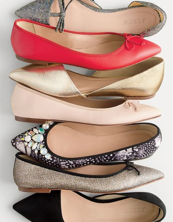 Flats jcrew and gold flats on pinterest for J crew bedroom slippers