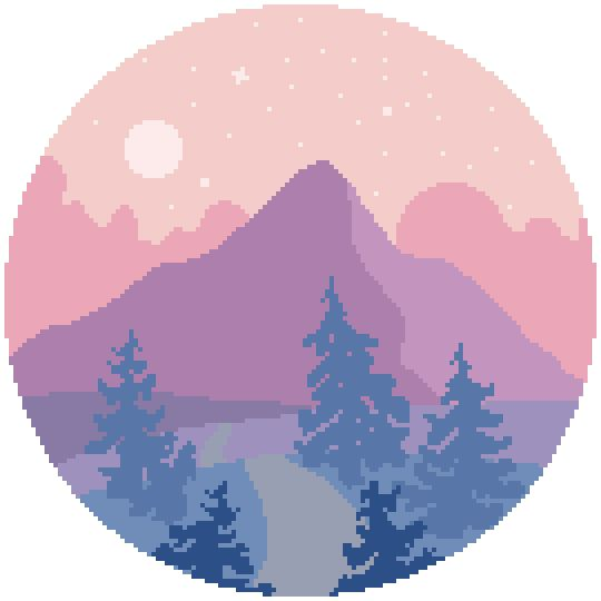 Tutorial How To Create Simple Pixel Landscapes Easy
