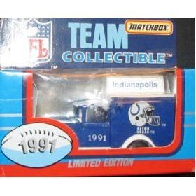Indianapolis Colts NFL Diecast 1991 Matchbox Ford Model A Football Team Truck White Rose Collectible Car by NFL  $18.79