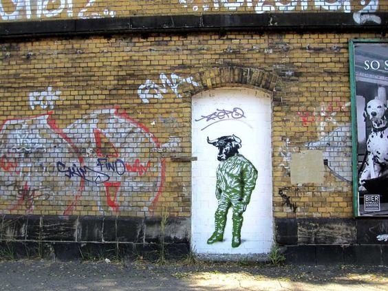 Street Art, Yorckstrasse Berlin