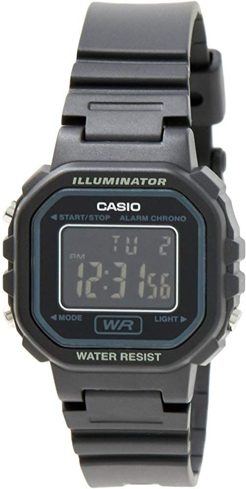 Casio #LA20WH-1B Women's Black Chronograph Alarm LCD Digital Watch #watches #jewelry #amazon #fashions #trends #moda #women