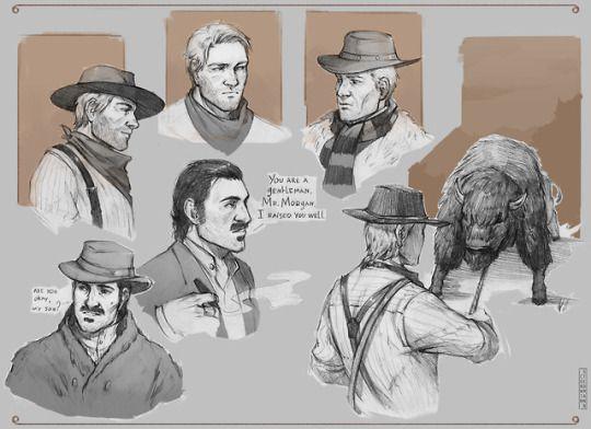 Corwin Stedmann Red Dead Redemption Art Red Dead Redemption Game Red Dead Redemption Ii