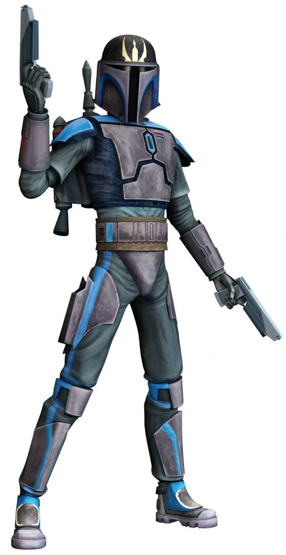 Star wars coloring pages jango fett