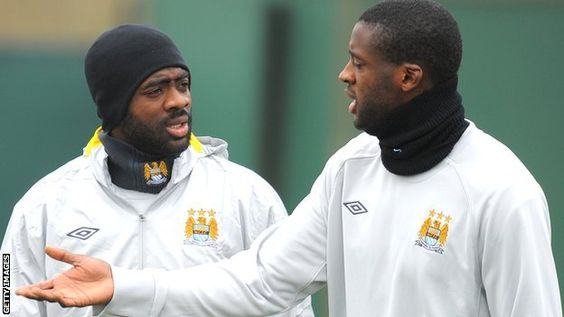 Good to see the Toure brothers back with Manchester City ahead of the game against Porto