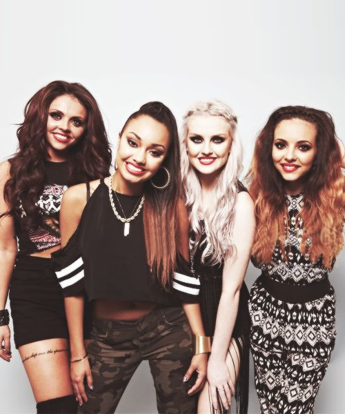 Little Mix - fab Brit girl band!!  Love their style & sound.  Loved following their journey on X Factor.  Got some inspiration for writing Pop! from them xx