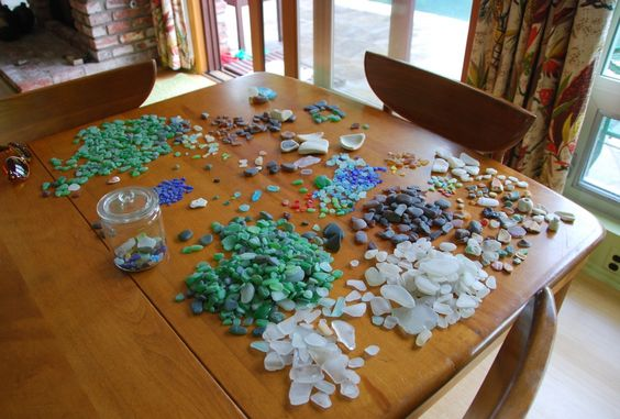 Here's something for you organizers -  sea glass!!!