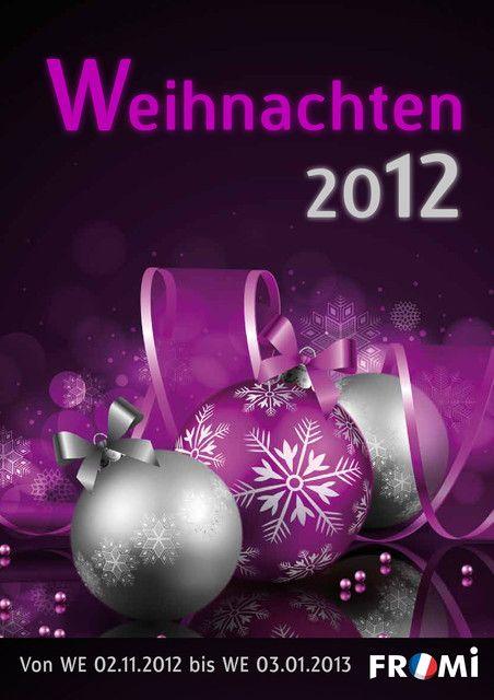 Fromi Weihnachtskatalog 2012