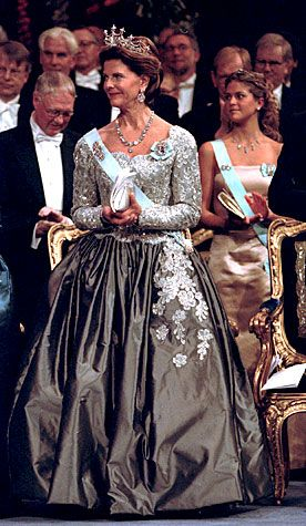 Queen Silvia and Crown Princess Victoria - The Nobel Prize Award Ceremony 2000