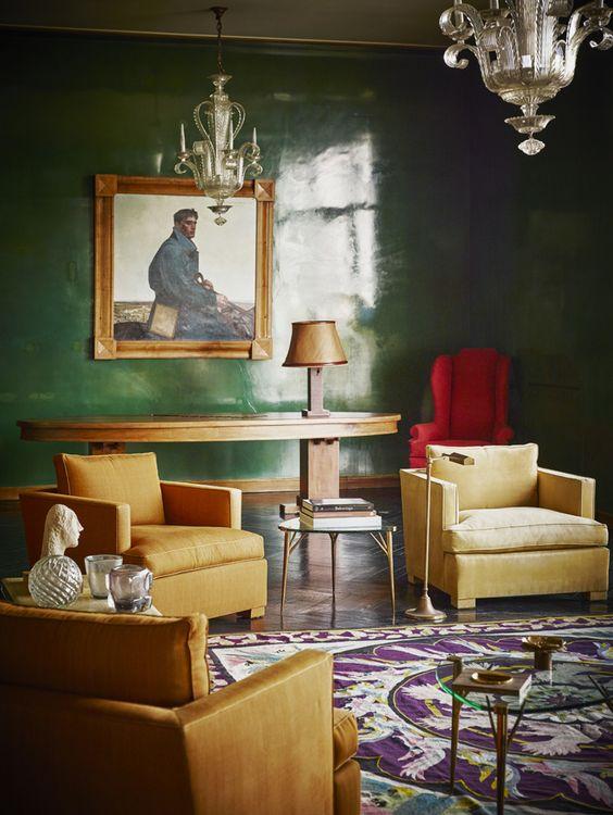 Un gout tr s fran ais pinterest spreads tables and decoration - Modern deco appartement ...