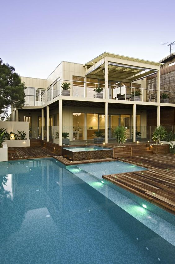 Ultra Contemporary Outdoor Play Area Fawkner Avenue By
