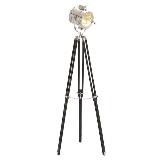 Photographic floor lamp
