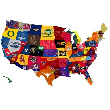 ncaaf schedule d1 football colleges