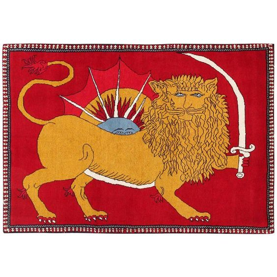Vintage Persian Qashqai Rug