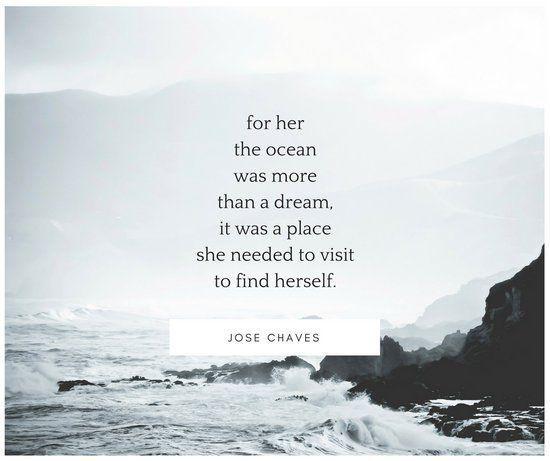 Nordic Ocean Quote Beach Facebook Post Citacoes Inspiracionais