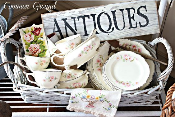 common ground : Spring Market and Vintage Ivy Dishes