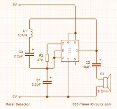 2dafbd4f3234e583db936a4986e5fca6 hobby electronics electronics projects metal detector circuit diagram and working circuit diagram