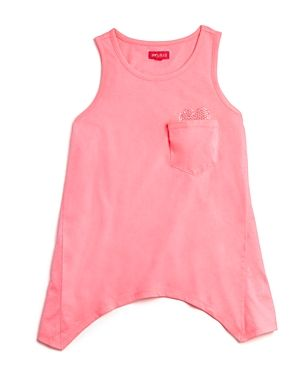 me.n.u. Girls' Heart Pocket Tank - Sizes Xs-xl
