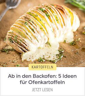 Nicht aus dem Topf, sondern vom Blech! 5 Rezepte für Ofenkartoffeln