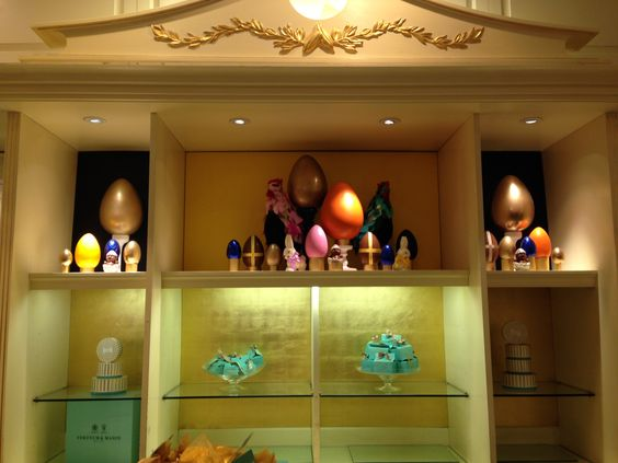 There are some delightful #Easter displays at Fortnum & Mason on Piccadilly! #eastereggs #chocolate #luxury #London #shopping #foodieheaven
