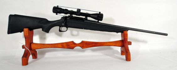 "Remington Model 770 .270 Win 22"".   Remington's model 770 is an upgrade from their model 710, with improved rifling, magazine latch, stock with raised cheekpiece, and grip. It includes a factory mounted and bore-sighted 3-9x40mm scope. Matte black finish. 4-round magazine. 22"" barrel. $329.00"