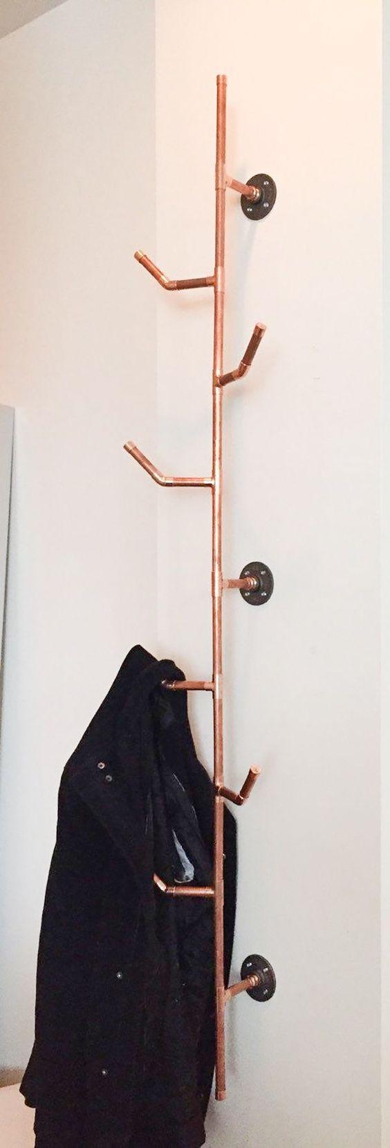 Decoração, Canos de cobre, Decoração com canos de cobre: