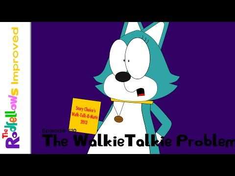 The Rodfellows Improved The Walkie Talkie Problem Youtube Walkie Talkie Improve Problem