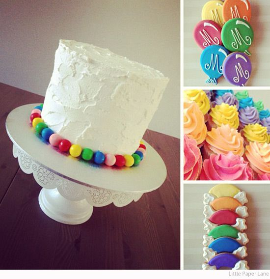 Bondville: Minty's 1st Birthday Rainbow Party