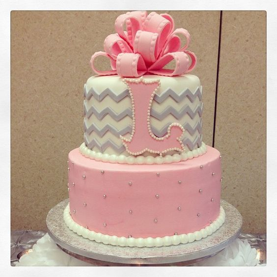 grey and pink wedding cakes wedding babyshower and cakes on 14980