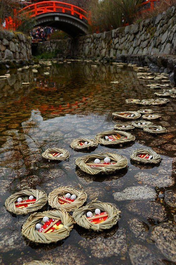 淡島神社のひなながし