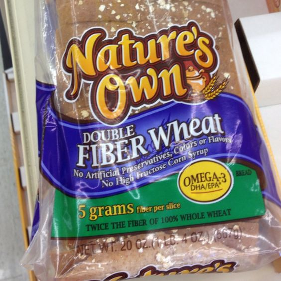 Nature S Own Double Fiber Wheat Bread Review