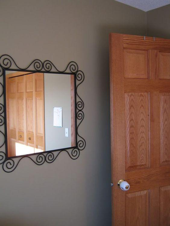 Trim paint color oak trim and oak color on pinterest for Gloss paint for trim
