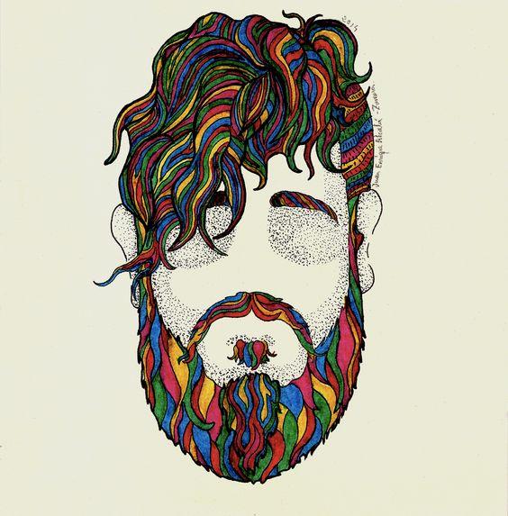 Beard and colors / Juan Enrique Alcalá-Zamora. 2014.  Esta obra de Juan Enrique Alcalá-Zamora está bajo una licencia Creative Commons Reconocimiento-NoComercial-SinObraDerivada 3.0 Unported.