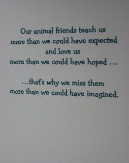 Thimbles, Bobbins, Paper and Ink: Dog Sympathy card