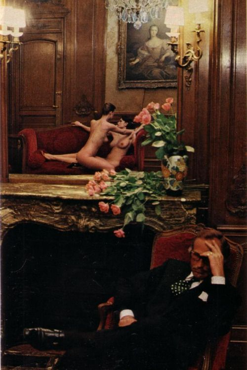 Helmut Newton   Hotel Suite III, Paris, for Playboy, 1977