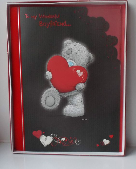 Boxed Me To You Valentines Day Card Boyfriend 550 – E Valentine Cards Uk