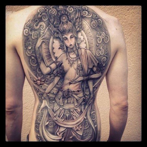 Lovely goddess by Sergio Villagran...