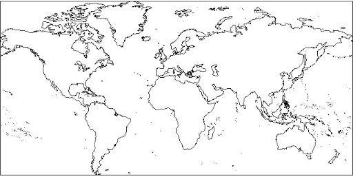 Mapa Mundi Mudo En Blanco Y Negro.Pin En Ndndndnd