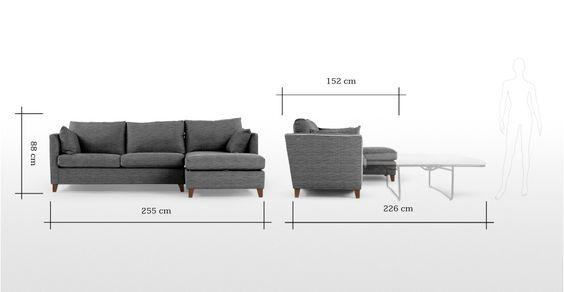 Bari, un canapé-lit du0027angle droit avec compartiment de rangement - design armsessel schlafcouch flop