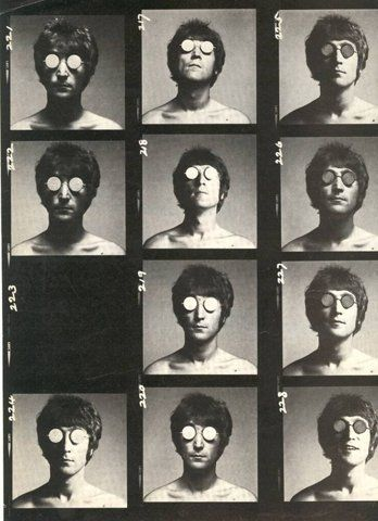 Never seen this before - very cool. Seems like the edgier version of 'A Hard Days Night'! Anyone know who the original artist/photographer is?