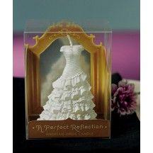 A Perfect Reflection - Wedding Dress Mini Candle