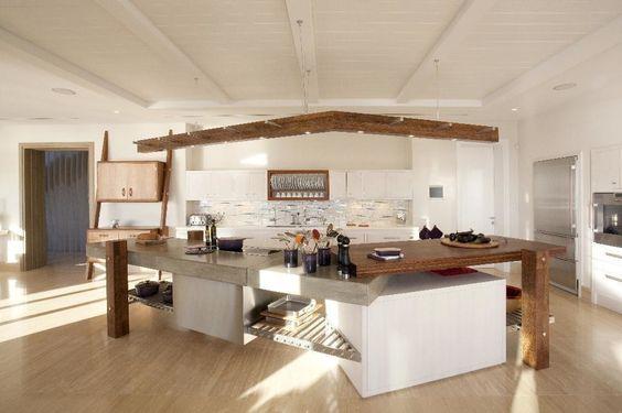 Johnny Grey の 地中海風 キッチン The Kitchen Island