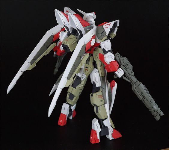 "HGBF 1/144 Build Strike Gundam ""Slash Strike"" Custom Build - Gundam Kits Collection News and Reviews"