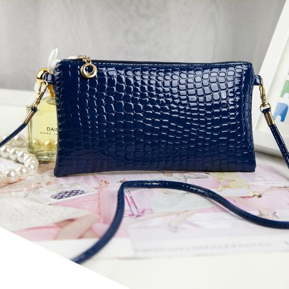 $3.50 (Buy here: http://appdeal.ru/6ml3 ) 2016 New Woman Bags Handbags Shoulder Bags Direct Selling Mini(<20cm) Single Zipper Flap Women Soft Alligator Polyester Shoulde for just $3.50