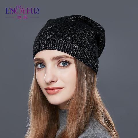 Trend Wool Cap Outdoor Accessories Adults Girls Pattern Knitted Hat Boys