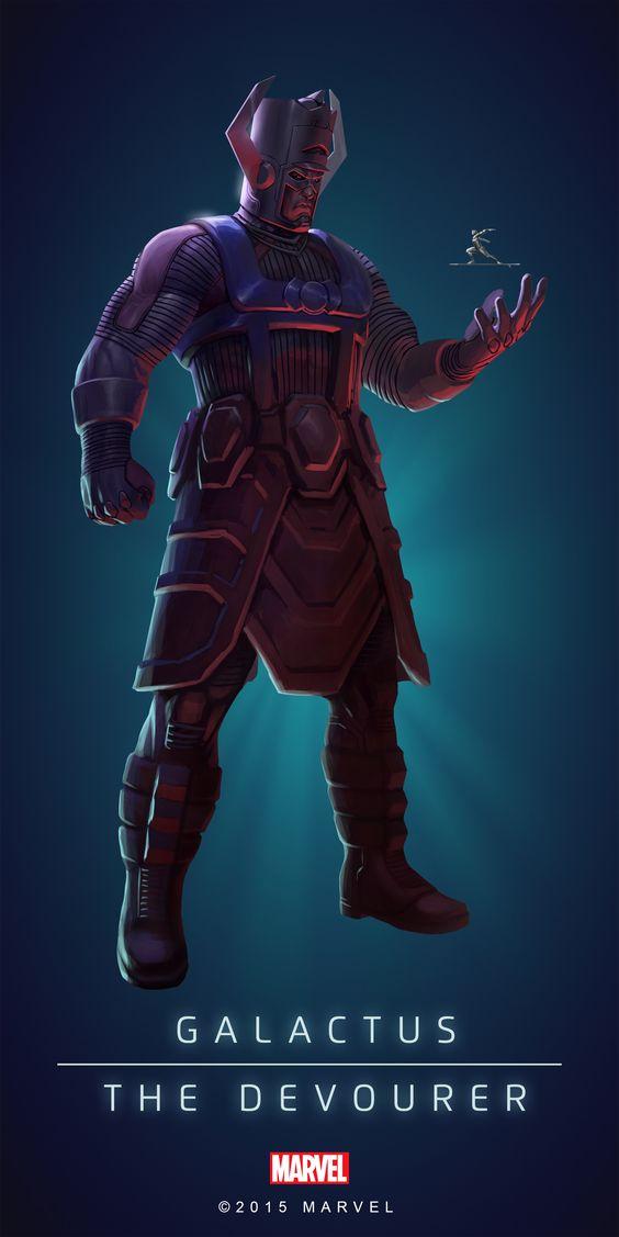 Galactus Poster-02 | Heros & Villains | Pinterest | Planets ...